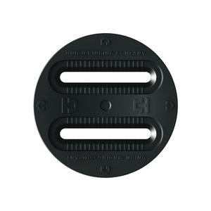 UNION UNION 3 HOLE DISC ( 4X4 - 3-HOLE)  (19/20) BLACK