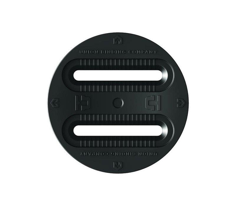 UNION 3 HOLE DISC ( 4X4 - 3-HOLE)  (19/20) BLACK