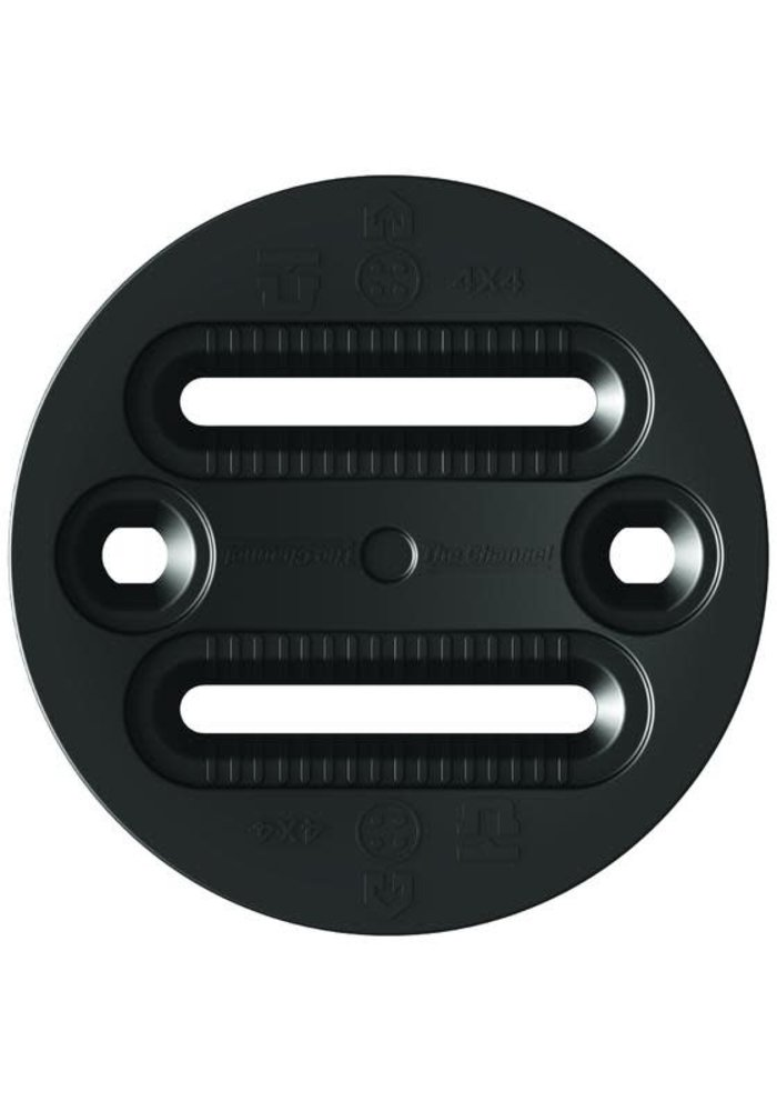 UNION REGULAR DISC (4X2, 4X4 AND CHANNEL)  (19/20) BLACK