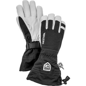 HESTRA HESTRA ARMY LEATHER HELI SKI - 5 FINGER (19/20) BLACK-100