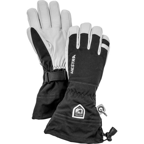 HESTRA Hestra Army Leather Heli Ski - 5 Finger (20/21) Black-100