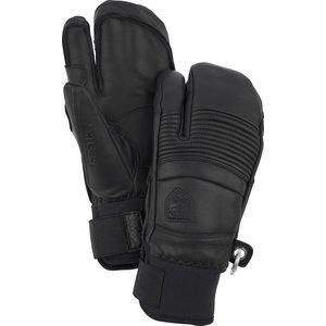 HESTRA Hestra Leather Fall Line - 3 Finger (20/21) Black-100