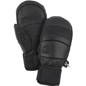 HESTRA Hestra Leather Fall Line - Mitt (20/21) Black-100