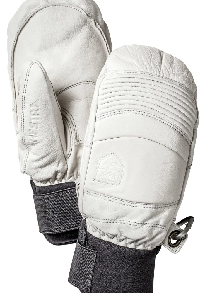 HESTRA LEATHER FALL LINE - MITT (19/20) OFFWHITE-020
