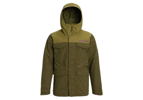 BURTON BURTON MEN'S COVERT JACKET (19/20) KEEF HEATHER / MARTINI OLIVE-300