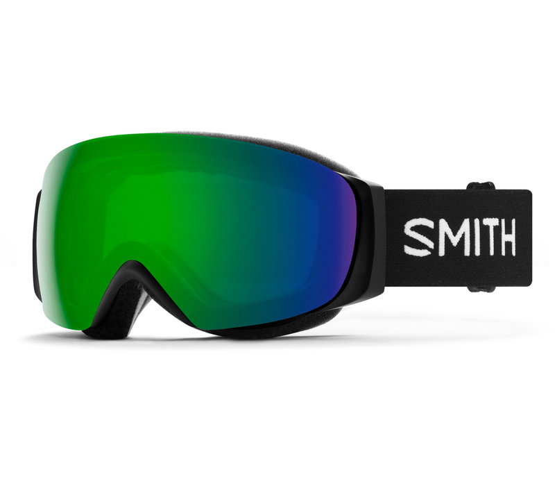 SMITH I/O MAG S  (19/20) BLACK-CHROMAPOP SUN GREEN MIRROR+CHROMAPOP STORM ROSE FLASH