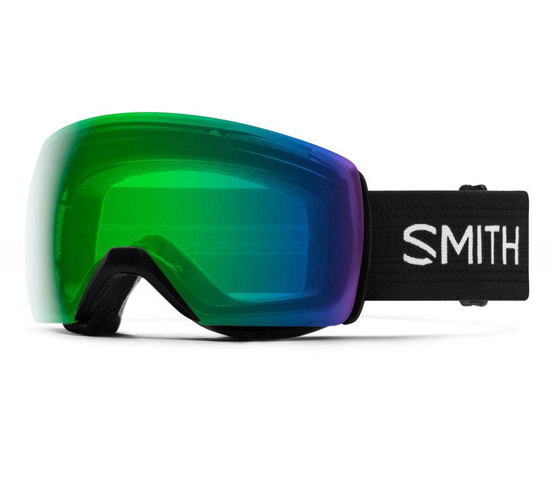 SMITH SKYLINE XL  (19/20) BLACK-CHROMAPOP EVERYDAY GREEN MIRROR