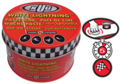 KUU WHITE LIGHTNING - FLUORO PASTE ALPINE - 80G   (DISPLAY PKG. WITH 12) (19/20)