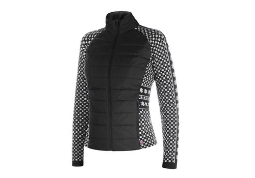 NEWLAND NEWLAND CELIE LADY FULL ZIP (19/20) BLACK/WHITE-0108
