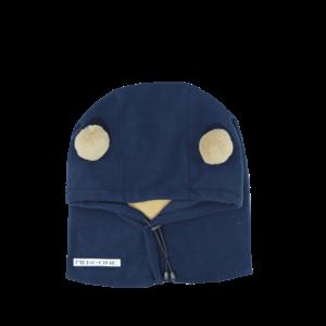 MDXONE Mdxone Balaclava (Over Helmet ) -  Blue (With Pompoms)