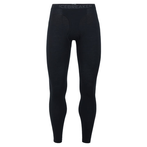 ICEBREAKER ICEBREAKER MENS 200 OASIS LEGGINGS W FLY (19/20) BLACK-1