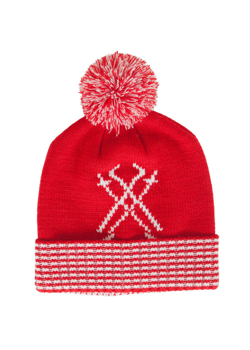 NEVE Neve Womens Peak Chic Hat Red -600 (16/17) O/S