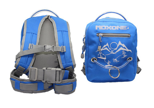 MDXONE MDXONE Snowboard & Ski Harness Bag with Retractable Leash - Blue