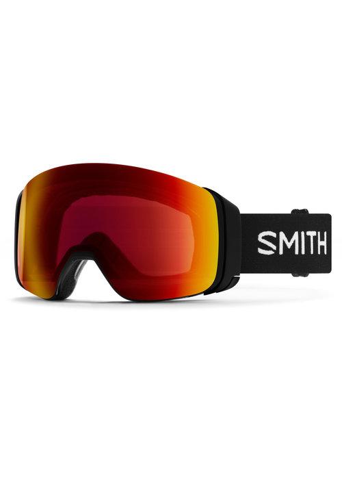 SMITH SMITH 4D MAG  (19/20) BLACK -CHROMAPOP SUN RED MIRROR+CHROMAPOP STORM ROSE FLASH