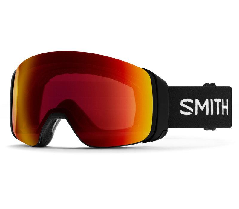 SMITH 4D MAG  (19/20) BLACK -CHROMAPOP SUN RED MIRROR+CHROMAPOP STORM ROSE FLASH