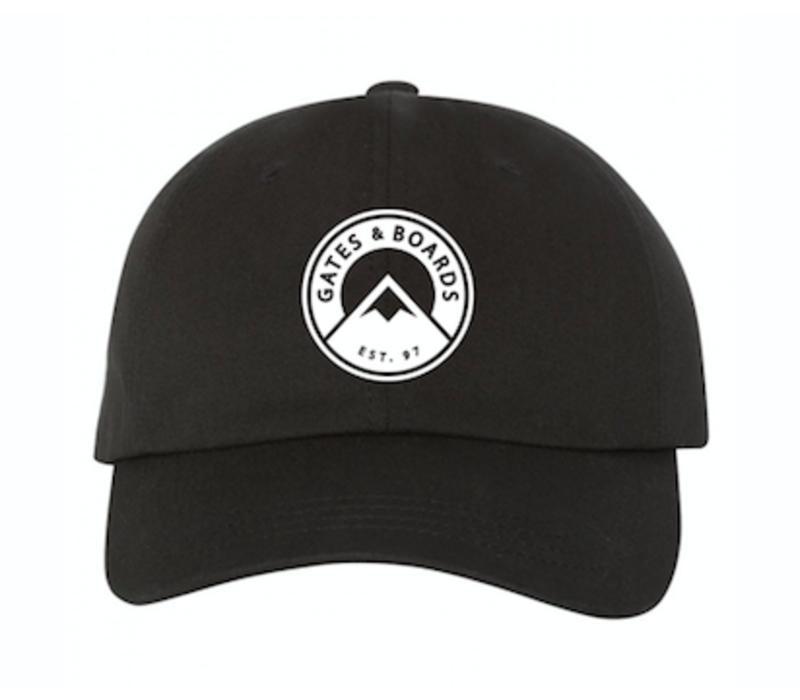 G&B/STL DAD HAT - BLACK