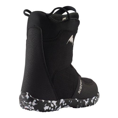 BURTON Burton Kids Grom Boa Boot (20/21) Black-001 *Final Sale*
