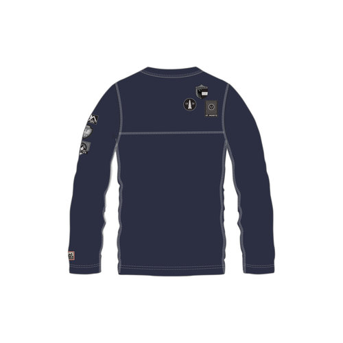 ALP-N-ROCK ALP-N-ROCK SKI PATCH MEN'S CREW SHIRT (19/20) NAVY