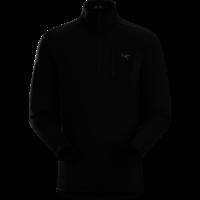 ARCTERYX RHO AR ZIP NECK MEN'S (19/20) BLACK-BLK