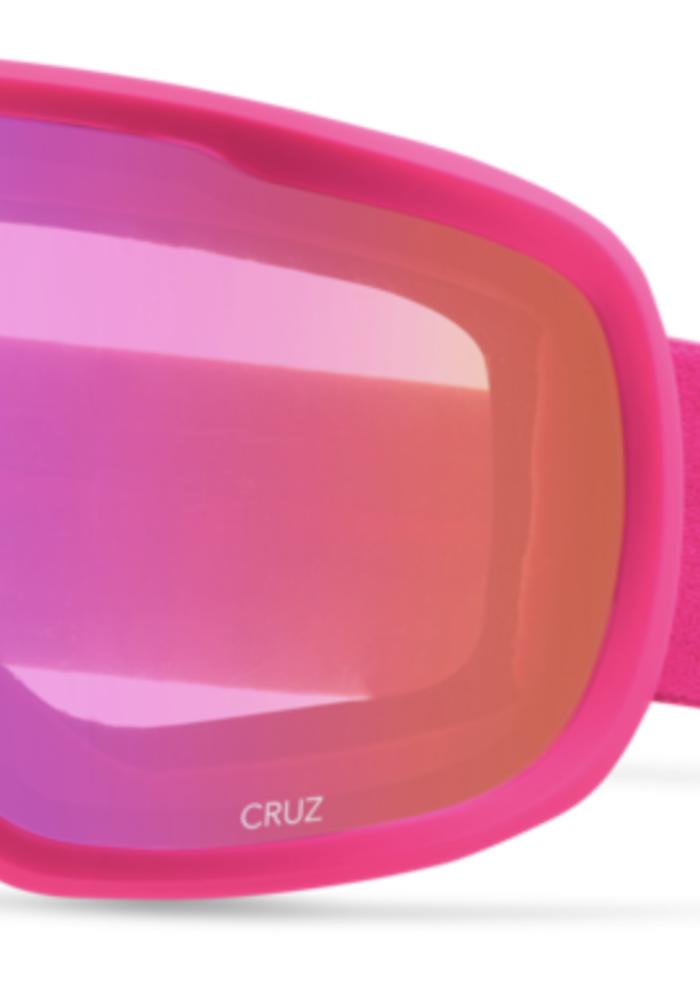 GIRO CRUZ BRIGHT PINK WORDMARK-AMBR PNK (19/20)