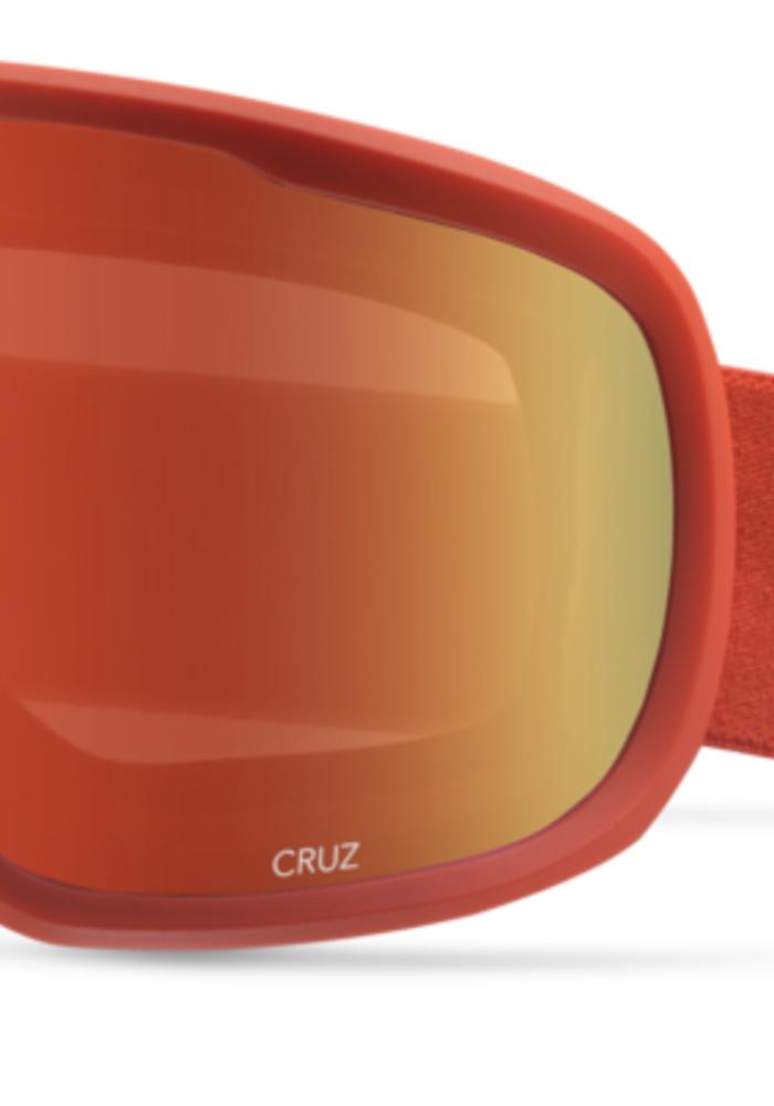 GIRO CRUZ RED WORDMARK-AMBR SCLT (19/20)