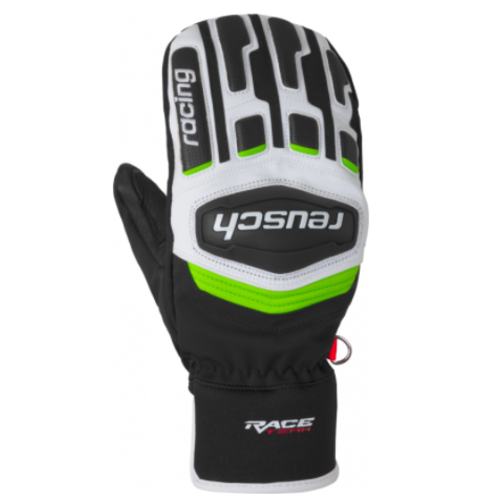 REUSCH REUSCH REUSCH RACE TRAINING R-TEX® XT MITTEN (19/20) 747 BLACK / WHITE / NEON GREEN