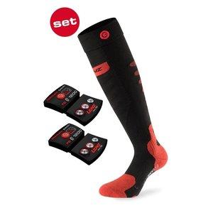 LENZ LENZ SET Lithium pack rcB 1200+heat sock 5.0 unisex Toecap (Merino and Silk)