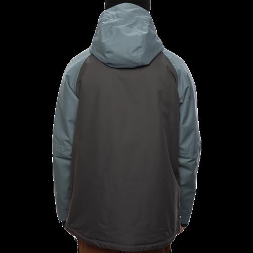 686 686 Men's Geo Insulated Jacket (20/21) GOBLIN BLUE CLRBLK-GOBL