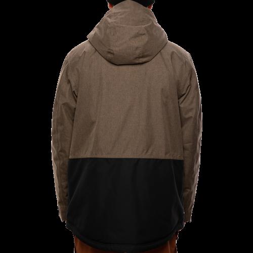 686 686 Men's Anthem Insulated Jacket (20/21) TOBACCO MELANGE CLRBLK-TBCO *Final Sale*