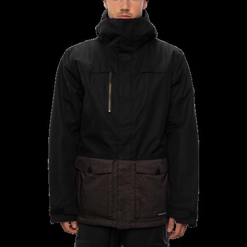 686 686 Men's Anthem Insulated Jacket (20/21) BLACK CLRBLK-BLK