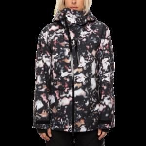 686 686 GLCR Women's Hydra Insulated Jacket (20/21) ABALONE CAMO-ABCM