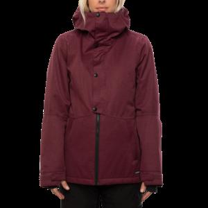 686 686 Women's Rumor Insulated Jacket (20/21) PLUM SLUB-PLM