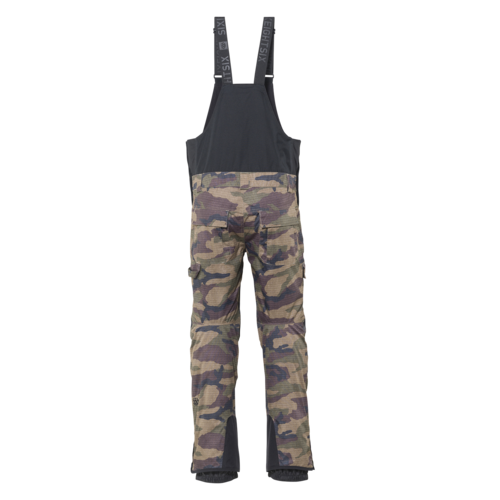 686 686 Men's Hot Lap Insulated Bib (20/21) DARK CAMO CLRBLK-DKCM