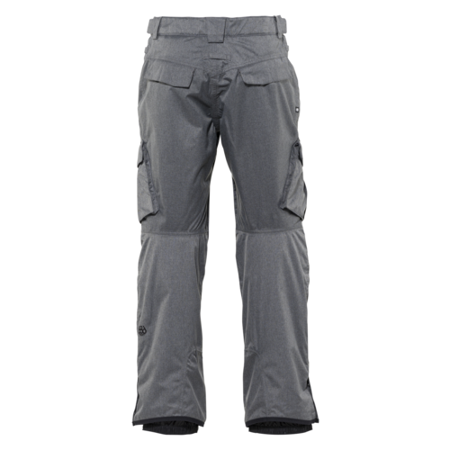 686 686 Men's Infinity Insulated Cargo Pant (20/21) GREY MELANGE-GRY