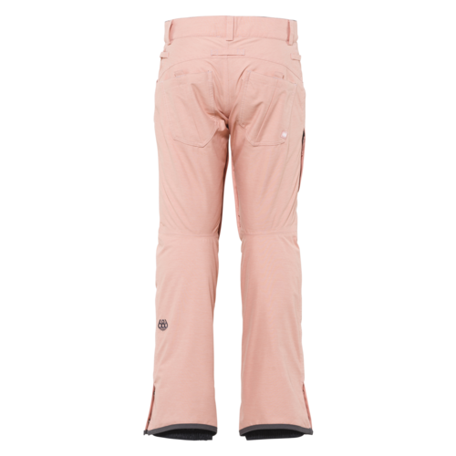 686 686 Womens Mid-Rise Pant (20/21) CORAL PINK HEATHER-CORL