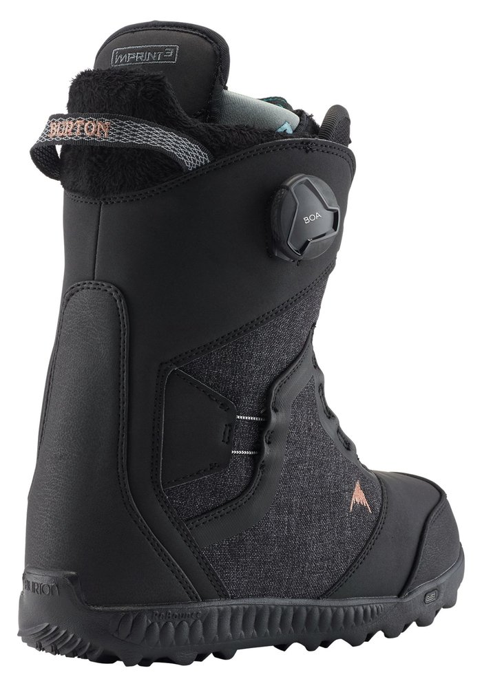 Burton Womens Felix Boa Boot (20/21) Black-001