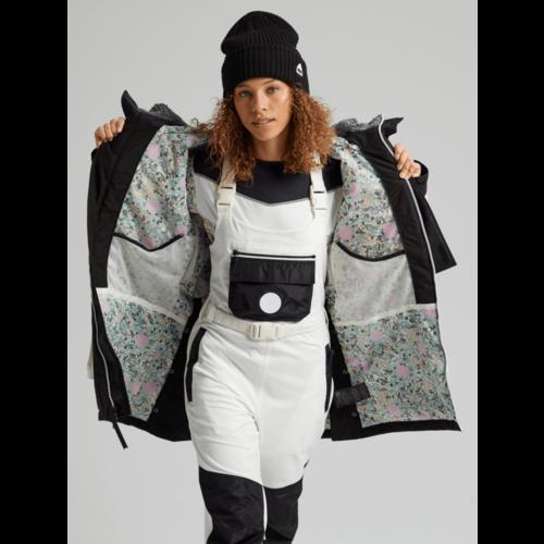 BURTON Burton Womens Larosa Jacket (20/21) True Black/Stout White-001