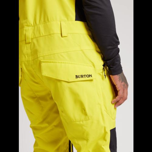 BURTON Burton Mens Reserve Bib Pant (20/21) Limeade-700
