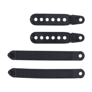 BURTON Burton Ankle Tongue And Slider Replacement Set (20/21) Black-001 NA