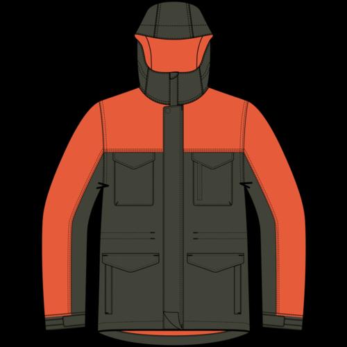 BURTON Burton Boys Covert Jacket (20/21) Forest Night-300