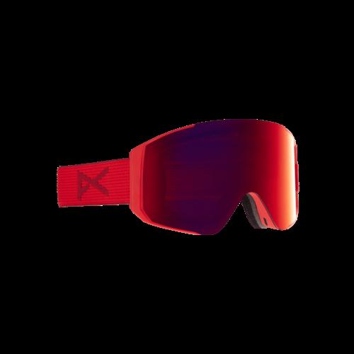 ANON Anon Sync Goggle + Bonus Lens (20/21) Red / Perceive Sunny Red-600 NA