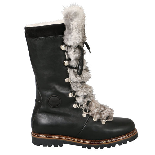 AMMANN Ammann Malix (20/21) Black Leather & Grey Rabbitfur Tongue *Final Sale*
