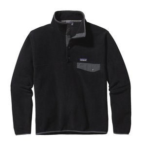 PATAGONIA Patagonia M'S Lw Synch Snap-T P/O (20/21) Black W/Forge Grey-Bfo
