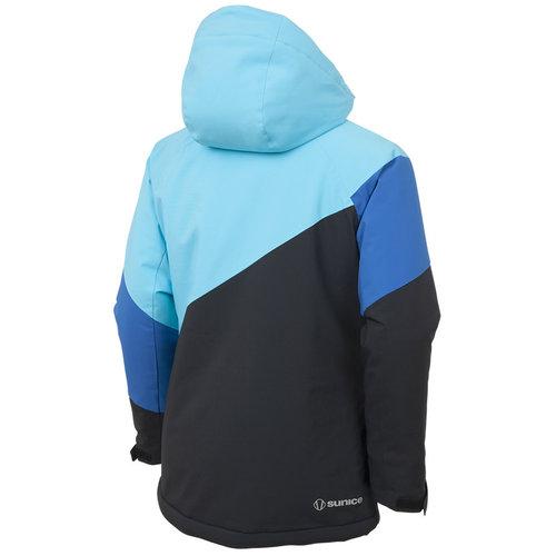 Sunice Sunice Leighton Jacket (20/21) Black/Aqua-70114 *Final Sale*