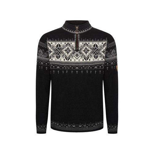 DALE OF NORWAY Dale Of Norway Blyfjell Masc Sweater (20/21) Black Smoke Cream Light Char -(K)