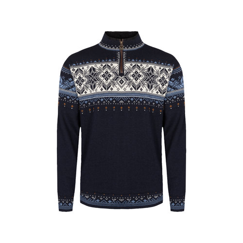 DALE OF NORWAY Dale Of Norway Blyfjell Masc Sweater (20/21) Navy Chinablue Offwhite Copper -(C)
