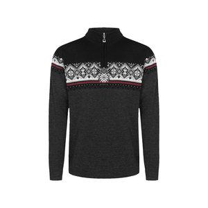 DALE OF NORWAY Dale Of Norway Moritz Masc Sweater (20/21) Darkcharcoal Raspberry Black -(E) *Final Sale*