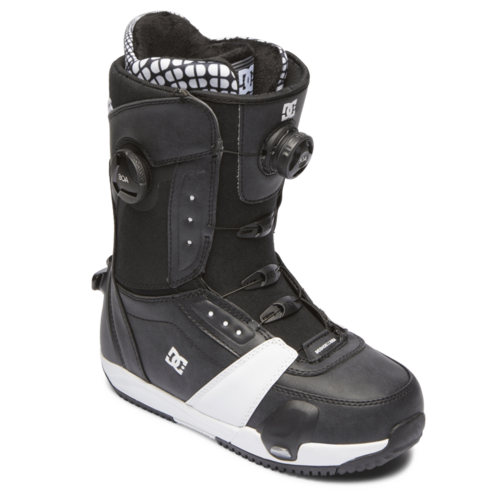 DC DC Lotus Step On (20/21) Black/White Bkw-009