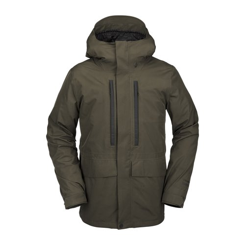 VOLCOM Volcom Ten Ins Gore-Tex Jacket (20/21) Black Military-Bml