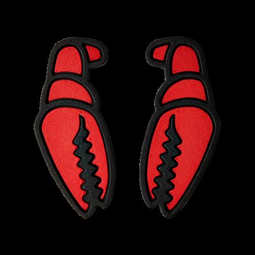 Crab Grab Crab Grab Mega Claw (20/21) Red Black-Red OS